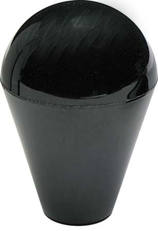 "Shift Knob,  Ball Knob,  3/8-16 Size,  1.77""L,  GP Phenolic"