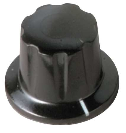 Skirted Knob, 1-1/64, 1/4X3/4 PH, 8-32 SS
