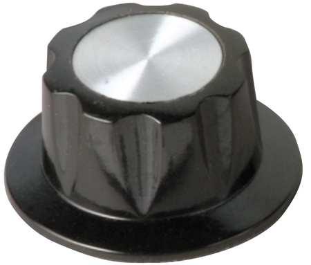 "Skirted Control Knob,  Control Knob,  1/4"" Size,  0.64""L,  GP Phenolic"