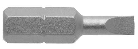 "Torsion Bit, SAE, 1/4"", Hex, 3F-4R, 1"""