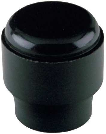 Smooth Knob, 31/64, 6-32X1/4 Blind