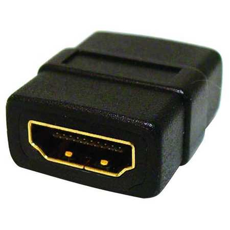 Cable Coupler, HDMI, Black, Straight