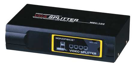 CPU Cord Splitter, 4 Way SVGA/VGA, 400MHz