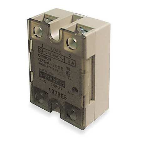 Solid State Relay, 200 to 240VAC,  5A