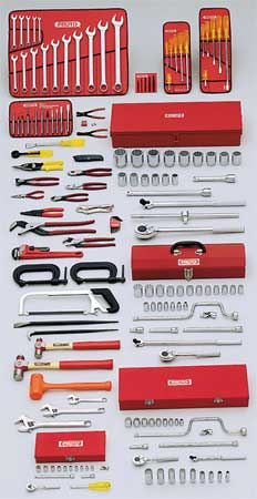 Master Tool Set, Starter, SAE, 164-Pieces