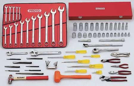 Master Tool Set, Starter, SAE, 1/2 In.