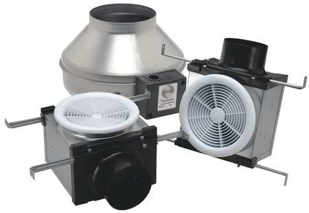 Exhaust Fan Kit, 4 and 6 In. Dia.