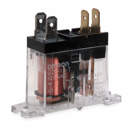 Relay, 4Pin, SPST, 10A, 120VAC