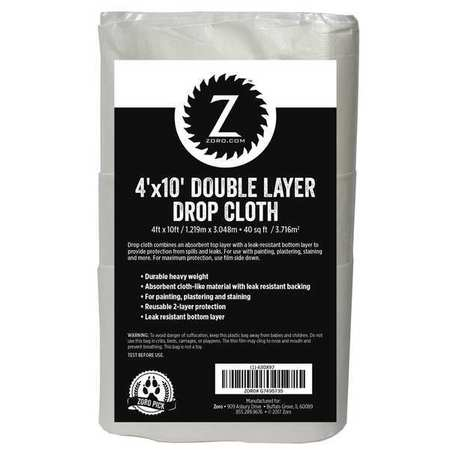 DoubleLayer, NonAirlaid, Dropcloth4ftx10ft