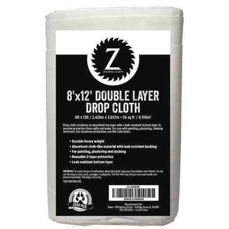 8x12 ft. Double Layer Drop Cloth