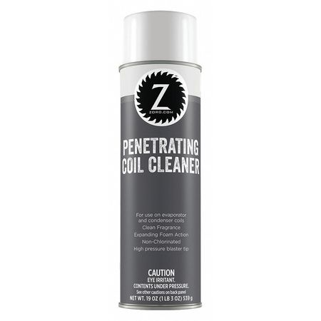 Penetrating Coil Cleaner,  Non-Chlorinated,  20 oz.