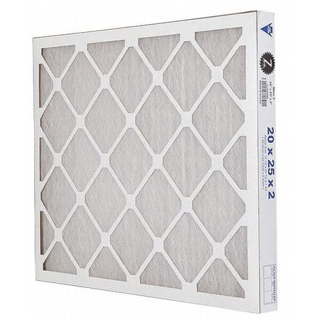 "Premium Poly/Glass Air Filter,  20x25x2"",  MERV 7"