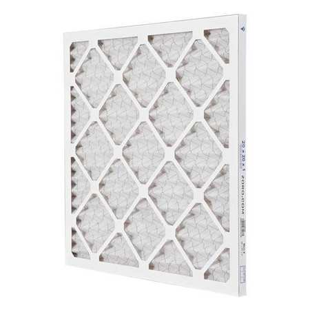 "Pleated Air Filter,  20""x20""x1"",  MERV 8"