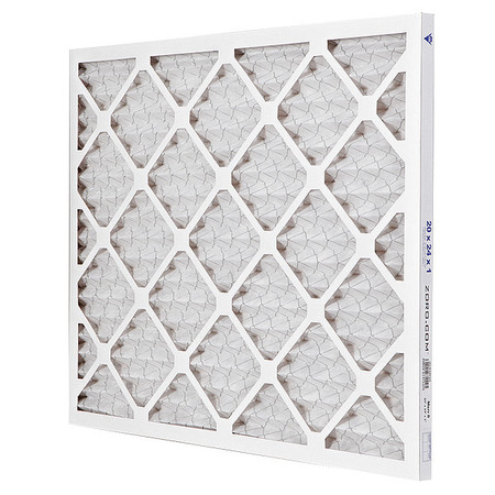 "Pleated Air Filter,  20""x24""x1"",  MERV 8"