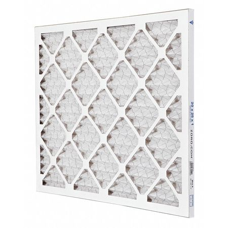 "Pleated Air Filter,  20""x25""x1"",  MERV 8"