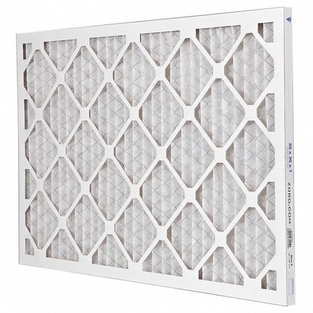 "Pleated Air Filter,  20""x30""x1"",  MERV 8"