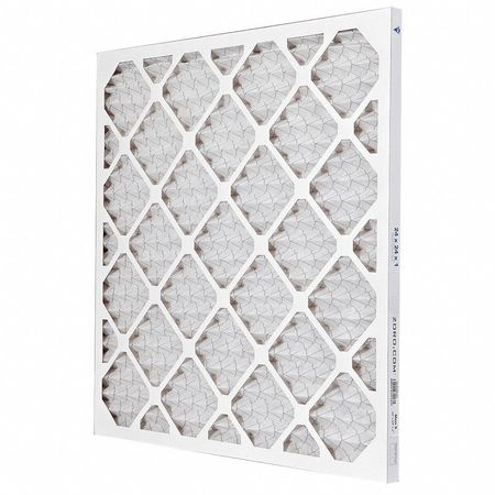 "Pleated Air Filter,  24""x24""x1"",  MERV 8"