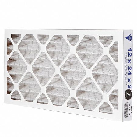 "Pleated Air Filter,  12""x24""x2"",  MERV 8"