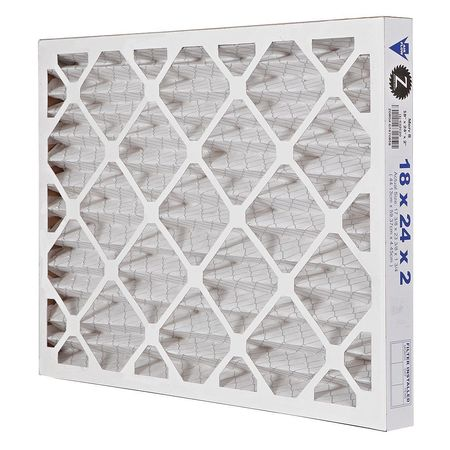 "Pleated Air Filter,  18""x24""x2"",  MERV 8"