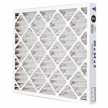 "Pleated Air Filter,  20""x24""x2"",  MERV 8"