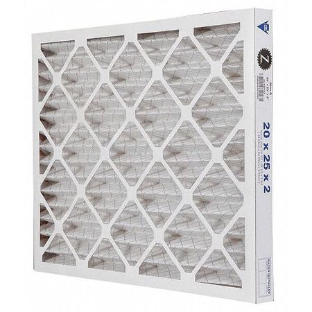 "Pleated Air Filter,  20""x25""x2"",  MERV 8"