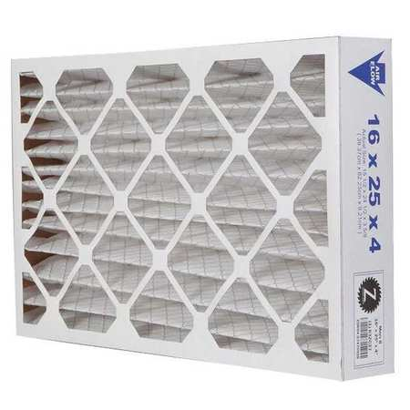 "Pleated Air Filter,  16""x25""x4"",  MERV 8"