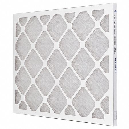"Premium Poly/Glass Filter,  18""x24""x1"",  MERV 7"