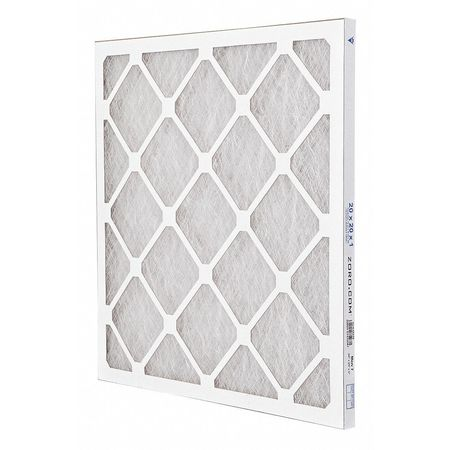 "Premium Poly/Glass Air Filter,  20x20x1"",  MERV 7"