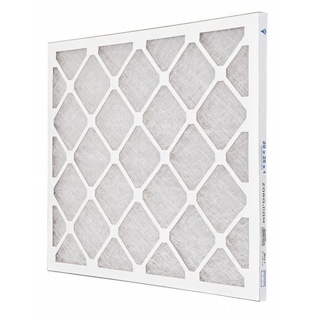 "Premium Poly/Glass Air Filter,  20x25x1"",  MERV 7"