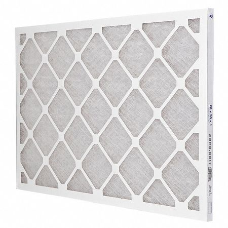"Premium Poly/Glass Air Filter,  20x30x1"",  MERV 7"