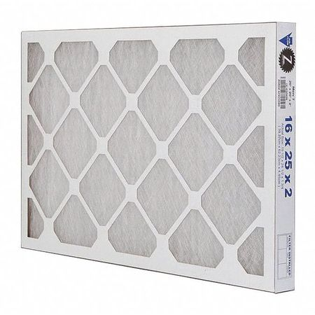"Premium Poly/Glass Air Filter,  16x25x2"",  MERV 7"