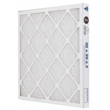 "Premium Poly/Glass Air Filter,  20x20x2"",  MERV 7"