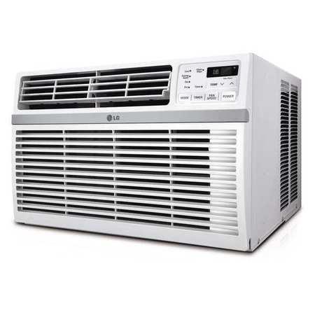 Lg window mounted ac w remote 15 000 btu lw1516er for 15 000 btu window air conditioner