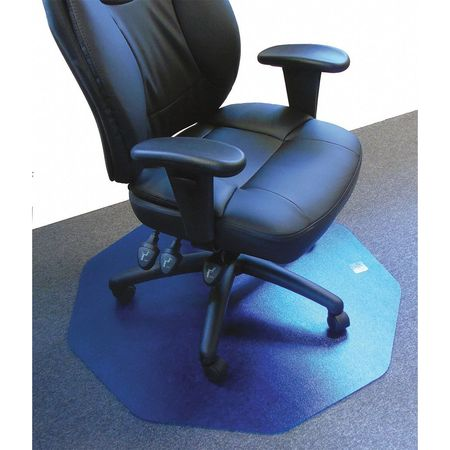 Vitek Ultimat Mat 38x39 Workstation Shape Blue For Carpet