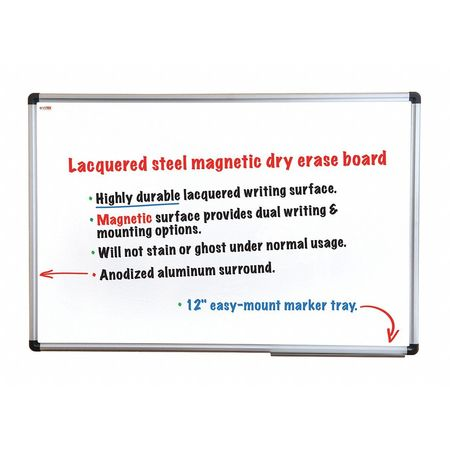 Viztex Steel Dry Erase Board 48\