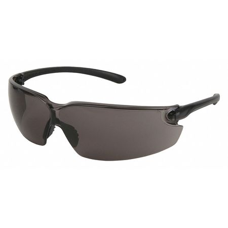 Safety Glasses,  Gray,  Scratch-Resistant,  Scratch-Resistant