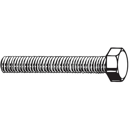M16-2.00 x 25 mm. Grade A4 Plain Hex Head Cap Screw