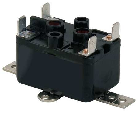 Enclosed Fan Relay, SPST, 208/240V Coil