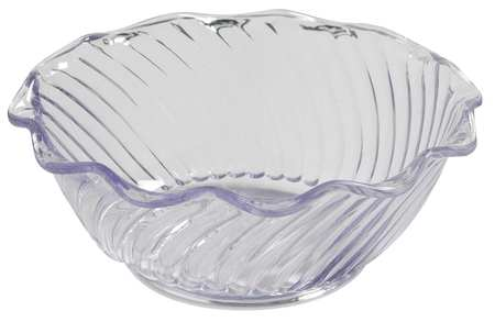 Tulip Bowl,  13 oz.,  Plastic Clear PK48