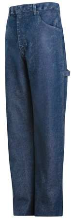 Pants, Blue, Excel FR(TM), 46 x 34 In.