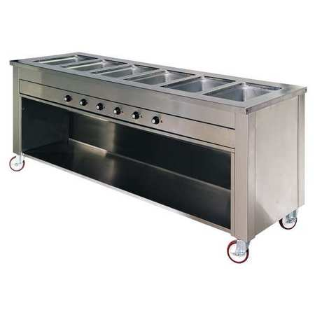 6AEG0, Hot Food Table, 6 Well