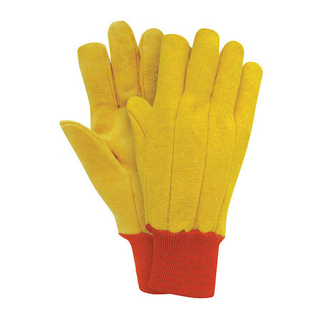Chore Gloves, Fleece,  L, Golden Brown, PR