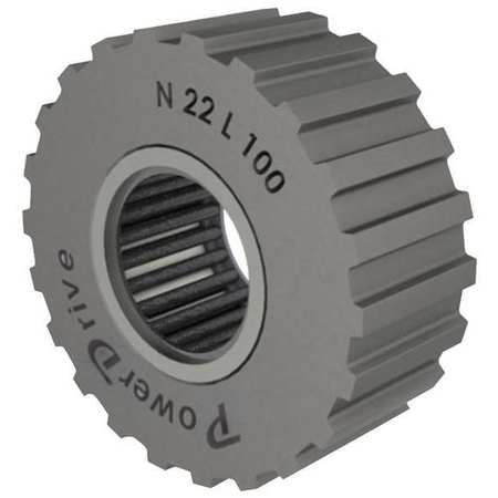 Gearbelt Pulley Idler, 1/2 Pitch