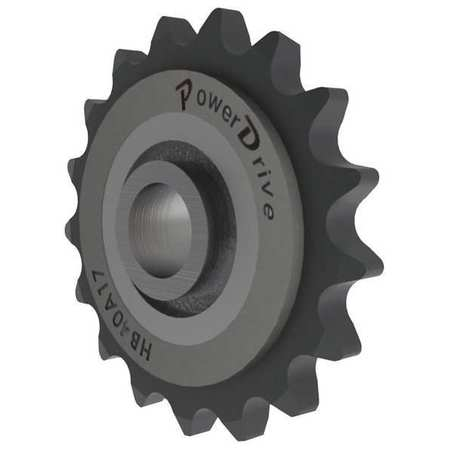 Idler Sprocket, Ball,  ANSI 40