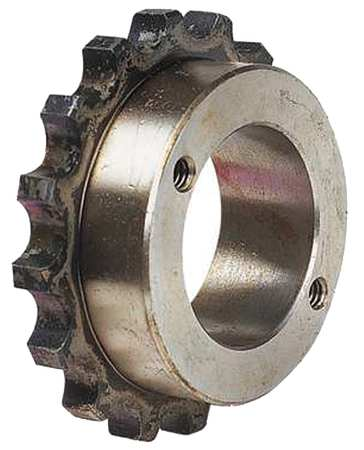 Chain Cplg Sprocket, Bore Max 2-7/16 In