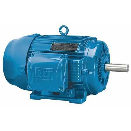 Mtr, 3 Ph, 3 HP, 1170, 208-230/460V, Eff 89.5