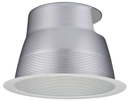 Recessed Lighting Trim, CFL, 8 In, White