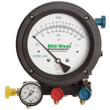 Backflow Preventer Test Kit, 5 Valves