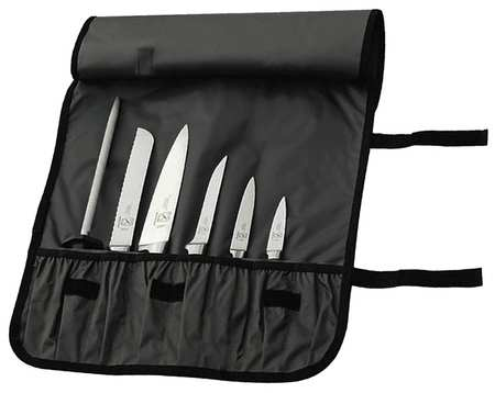 Forged Knife Roll Set, 7 Piece Set