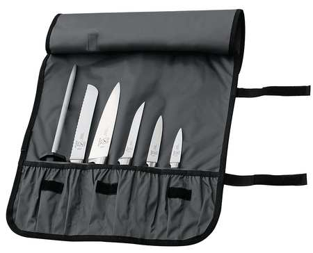 Knife Case, Holds 7 pcs., Poly, 21 In.